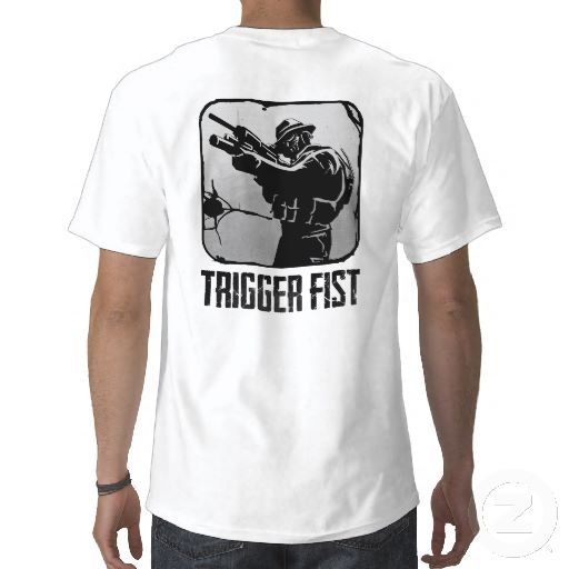 Official Trigger Fist Icon Shirt from Zazzle.com