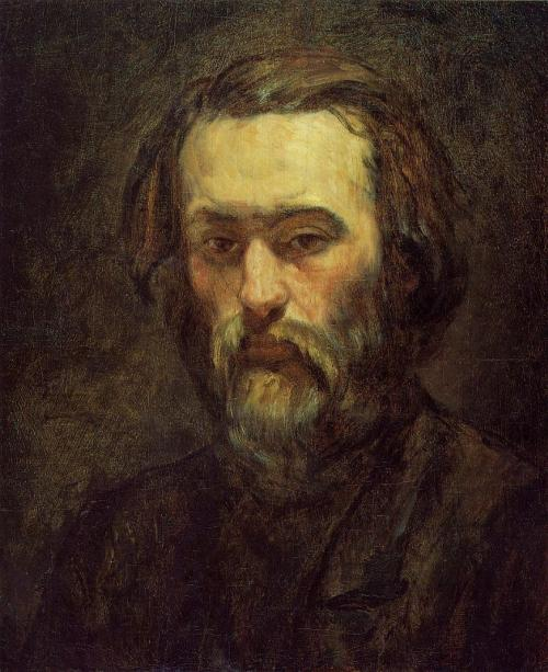 fuzzyhorns:  allthepainting:  Portrait of a Man 1, Artist: Cezanne  cezanne does not get enough credit