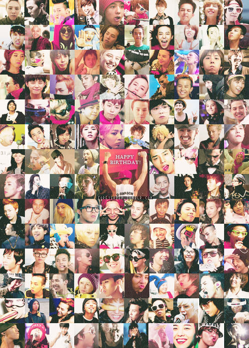 Happy 24th/25th birthday, Kwon Jiyong ❤