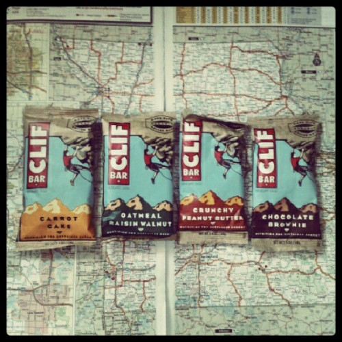 #roadlife #trucking #food #Cliffbars #peanutbutter  (Taken with Instagram)