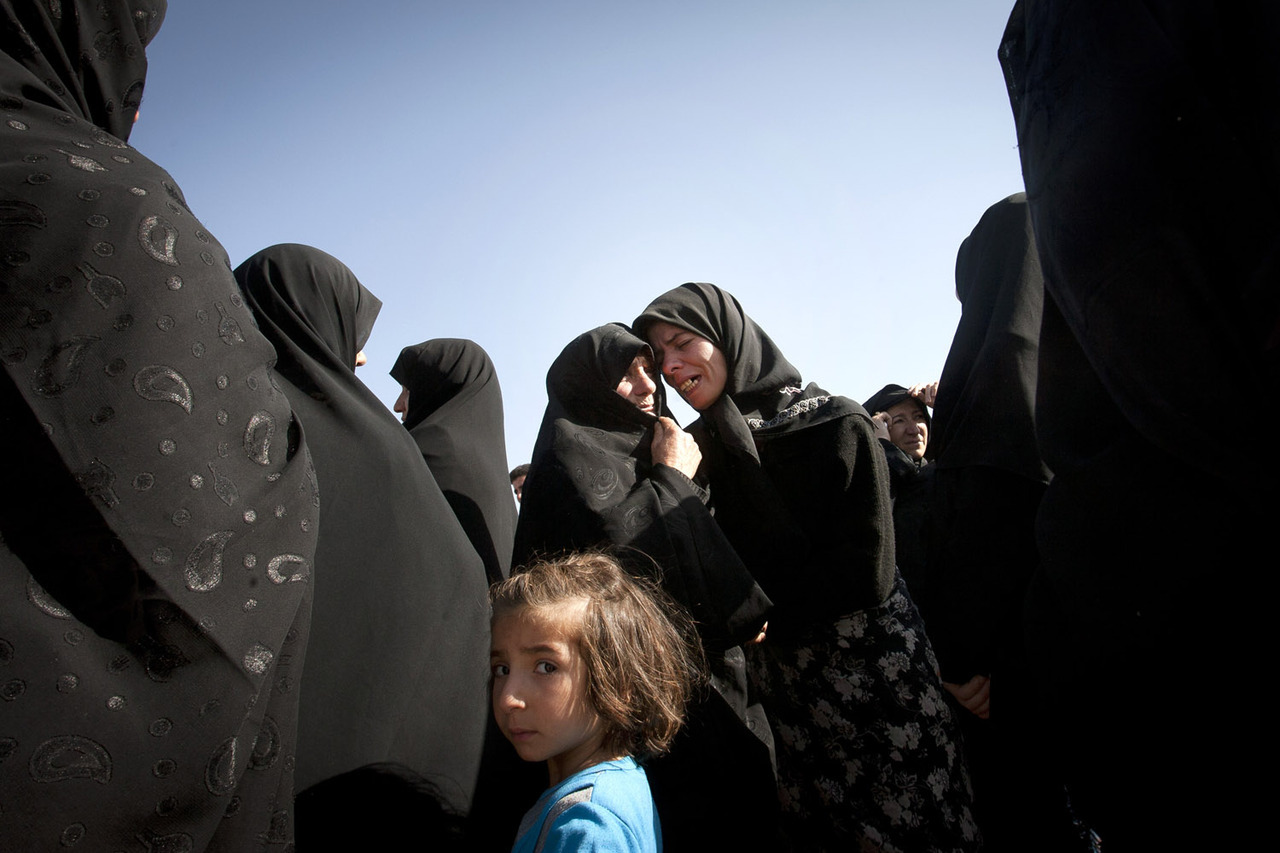 Aug. 12, 2012. Iranian women mourn after a deadly earthquake in northwest Iran.  From the earthquake in Iran and the killing of miners on strike by police in South Africa to the end of Ramadan and a meteor shower over Macedonia, TIME presents the best images of the week. See more photos here.