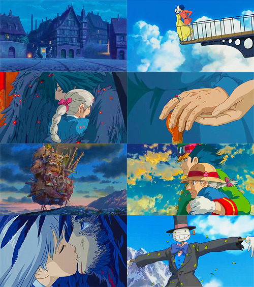 Howl's Moving Castle + Blue