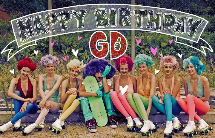 BIGBANG Facebook: [HAPPY BIRTHDAY (GD)] (120818)