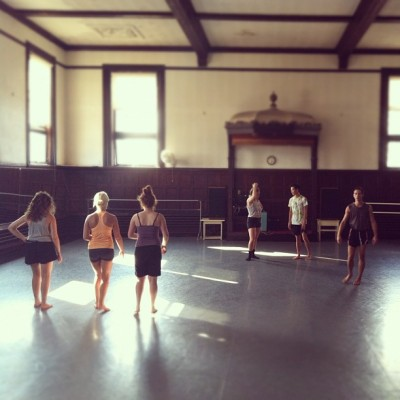 This is happiness. #emergedanceworks #dance #rehearsal #boston #movement #happyplace #love (Taken with Instagram)