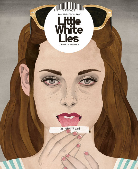 lwlies:  Little White Lies Kristen Stewart On the Road cover by Paul X. Johnson