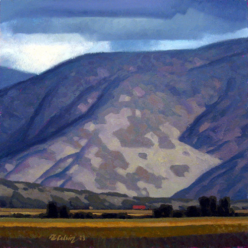 rob-colvin-art:  Wasatch Range 24x24 inches, oil by Rob Colvin
