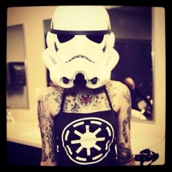 #starwars #geek #girl #tatoo #swag #hipster #popular #famous #instabest (Pris avec Instagram)