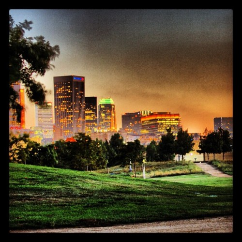 State historic park, near Chinatown.  (Taken with Instagram at Los Angeles State Historic Park)