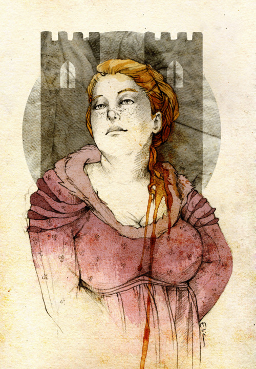 galleryofthrones:  Walda Frey by *elia-illustration