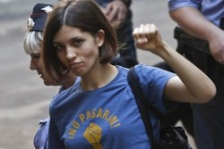 impose:  If you're putting together a protest for Pussy Riot's ridiculous two-year jail sentencing, leave us a comment here or tweet at us and let us know. Throughout today we'll try and spread the word about rallies and protests!