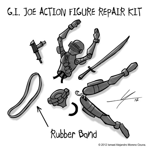 """G.I. Joe Action Figure Repair Kit"" (Sketch) by IAMO. deviantART 