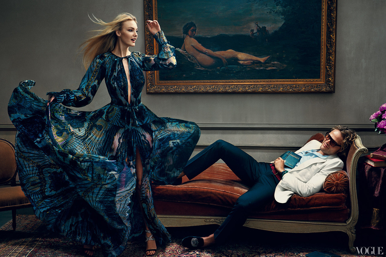 The Vogue 120 Peter Dundas, Caroline Trentini.