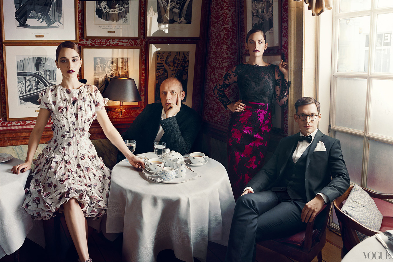 The Vogue 120 Emilia Clarke, Peter Coppin, Erdem Moralioglu, Ruth Wilson.