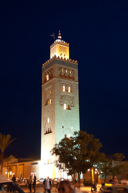 Koutoubia Mosque by Zanthia on Flickr.