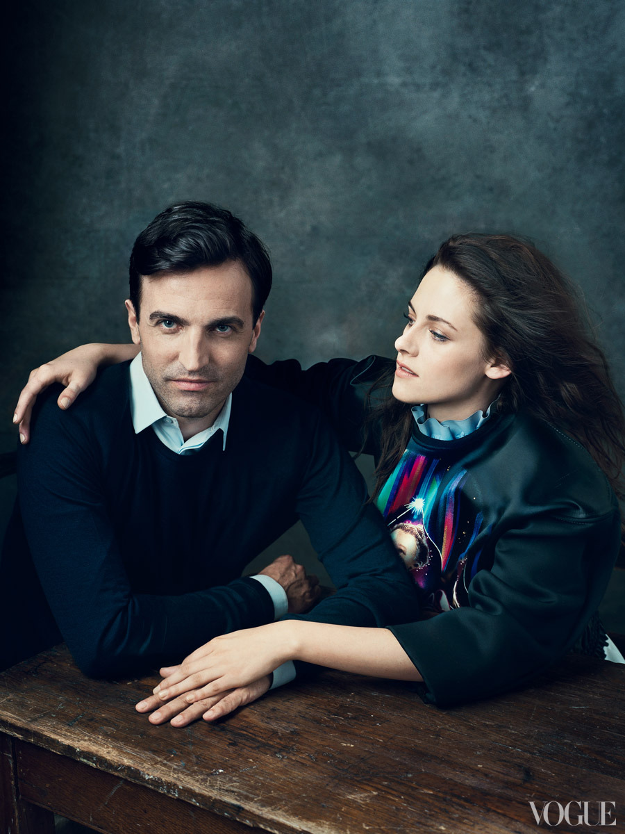 The Vogue 120 Nicolas Ghesquière, Kristen Stewart.