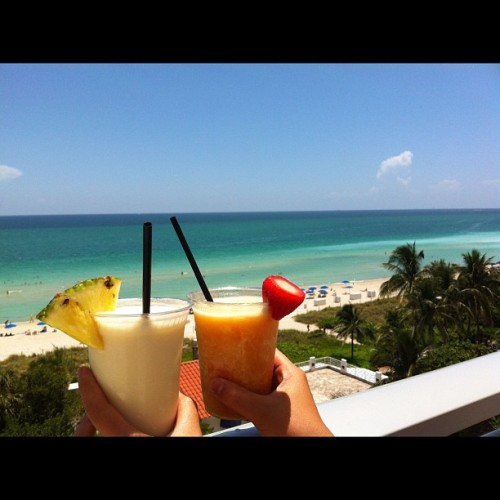 So amazing💙💚 (Taken with Instagram at Miami Beach Resort)