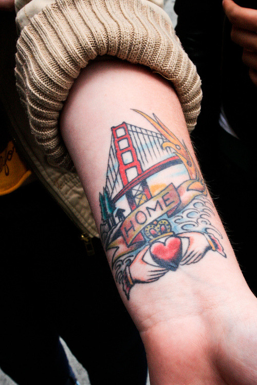 Aww yeeeeahh other people with Golden Gate Bridge tattoos!