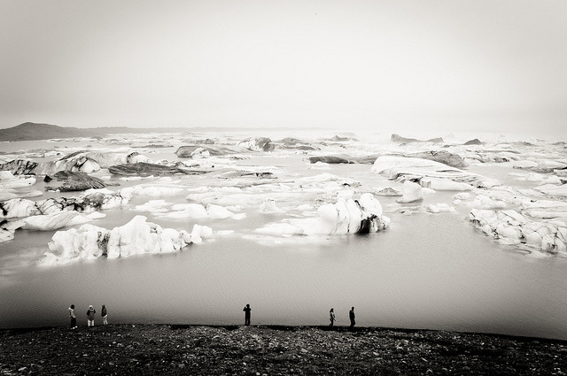 Jökulsárlón by Zanthia on Flickr.