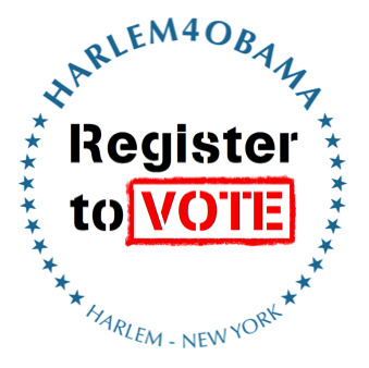 [VOLUNTEER CALL] @Harlem4Change Seeks Volunteers to Help Register People to Vote & Hand Out Information @HarlemWeek Saturday, August 18 -Sunday, August 19 | Set up begins at 9AM both days E-mail whye@harlem4obama.org with the DAY(s) and TIME you can volunteer