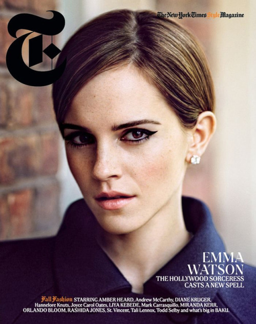 Emma Watson Covers NYT Magazine's Fall Fashion Issue | BuzzFeed