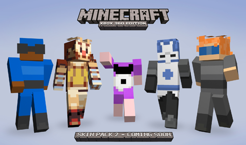 Gamma Bros skins for Minecraft on XBLA! http://playxbla.com/more-minecraft-indie-icons-skins-revealed/
