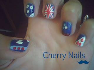 Cherry Nails… Nail Art…