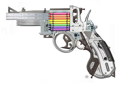 """the creative gun"""