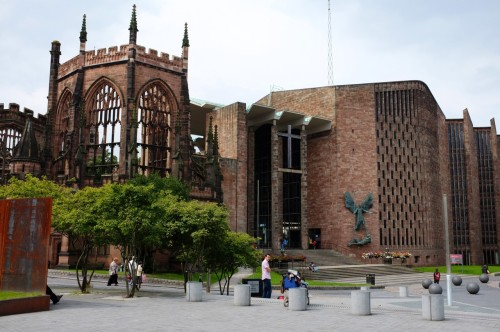 Coventry Cathedral. August 2012.