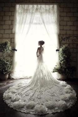 xyilmaaz:  Amazing weddingdress ;o
