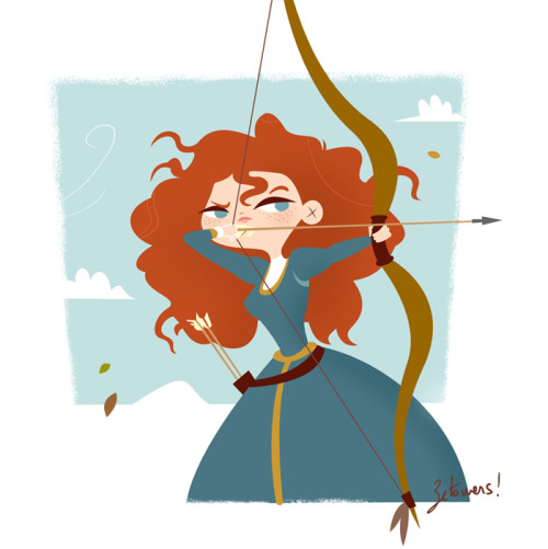betowers:  Fan art from Brave http://beatorres.blogspot.com.es/