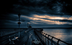 Dawn on the Deck | Penarth Pier, Penarth, Cardiff, Wales