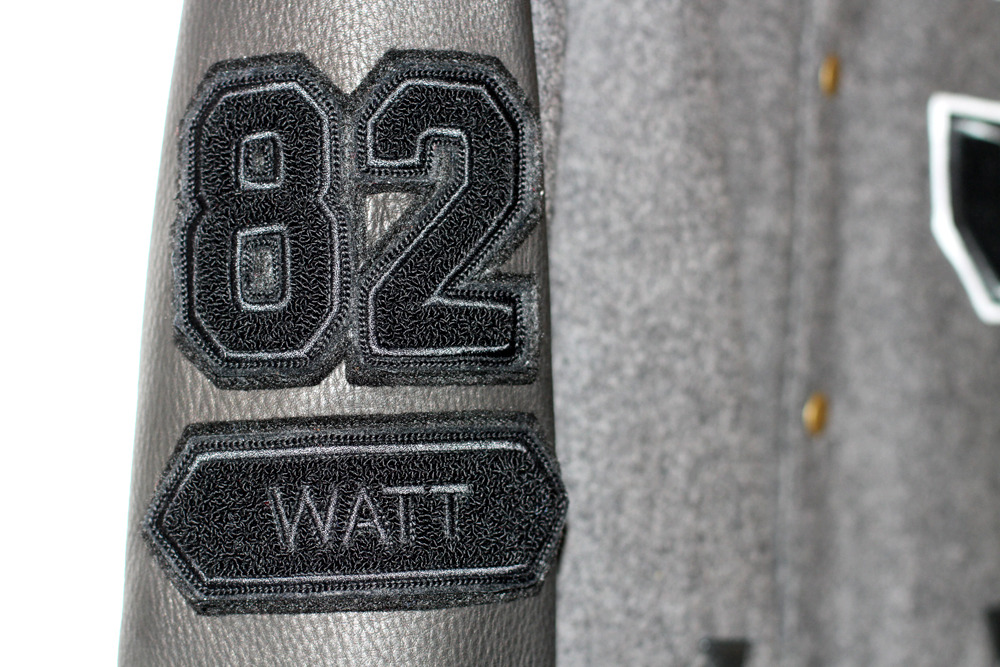 Roots X Jeremy Watt Varsity Jacket.