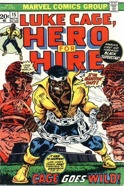 Luke Cage, Hero for Hire (1972)Cover art: Billy Graham Billy Graham was an African-American art director and comics artist who was best know for his work on Luke Cage, Hero for Hire, and the Black Panther.