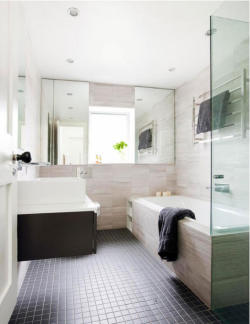 myidealhome:  contemporary bathroom (via desire to inspire - Hello Mr Waller)
