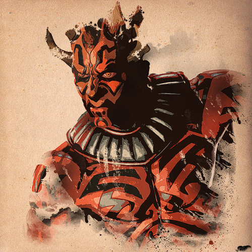 Darth Maul by ~nicollearl
