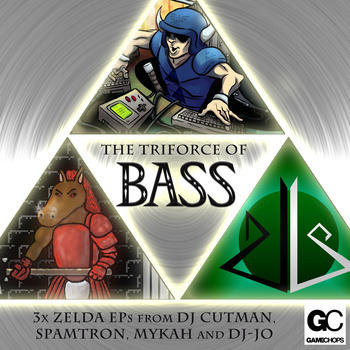The Triforce of Bass For anyone who likes remixed video game music, check out this album from Dj CUTMAN, Spamtron, Mykah, and dj-Jo. It's pay-what-you-want and has some solid tracks, plus we had them featured in the Fistful of Rupees credits ;] #LegendofZelda #dubstep #moobah #drumnbasshttp://music.gamechops.com/album/the-triforce-of-bass