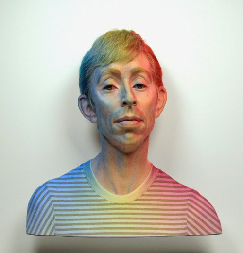 Even PennyNo One - In Particular: RGB #2, 2009Silicone, pigment, hair, aluminum