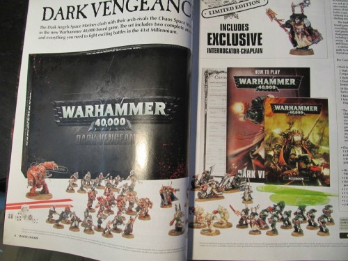 Dark Vengeance 6th ed starter set overview