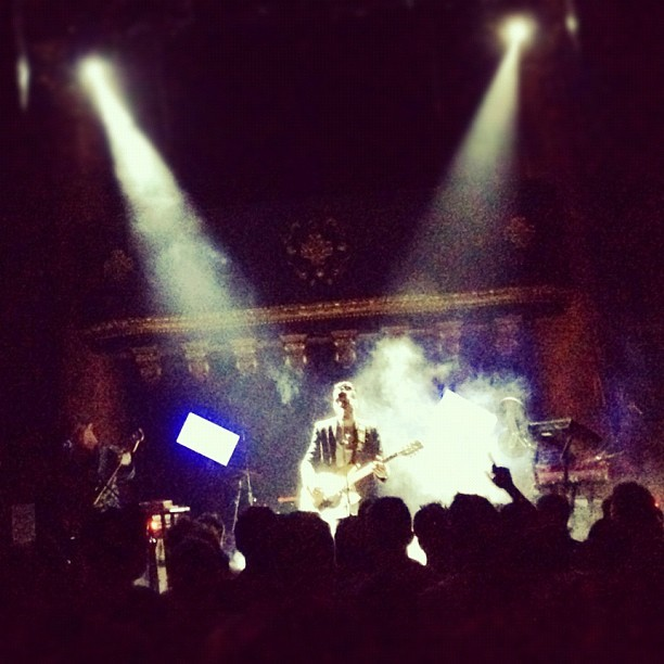 Twin Shadow (Taken with Instagram at Great American Music Hall)
