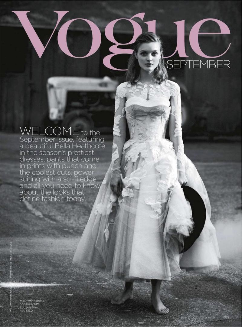 Ciao Bella Vogue Australia Septiembre 2012 Bella Heathcote por Will Davidson. Estilismo de Stevie Dance. ….. Vogue Australia September 2012 Bella Heathcote by Will Davidson. Styling by Stevie Dance.