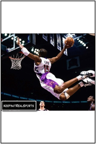 NBA: Mr. Air, Vince Carter   keepinitrealsports.tumblr.com  pinterest.com/mysterkeepinit  keepinitrealsports.wordpress.com  facebook.com/pages/KeepinitRealSports/250933458354216  Mobile- m.keepinitrealsports.com