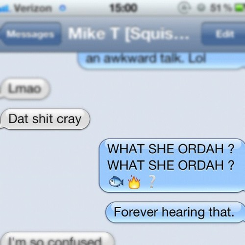 Cause I can. #niggasinparis #jayz #kanyewest #iphone #imessage #texting #text #bored #haha #blah #weird (Taken with Instagram)
