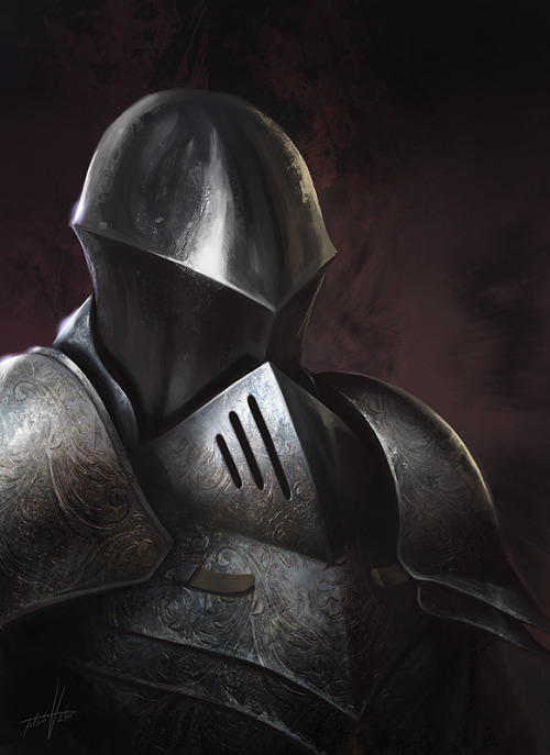 Knight Portrait by ~Fetsch —-x—- More: | Random |