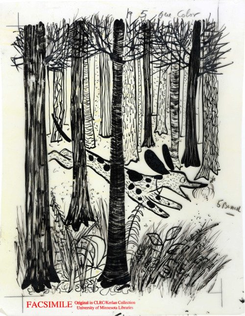 This illustration is by Roger Duvoisin.  It's from Houn' Dog, by Mary Calhoun!