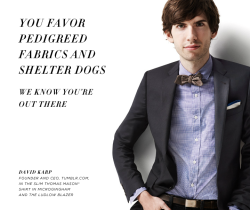 question of the decade what the hELL is david karp doing in a jcrew catalog