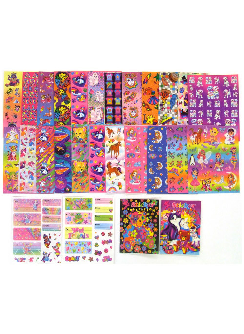 Can't stop looking at: Lisa Frank Party Working on multiple sticker commissions & some new sticker wallpaper makes me think of Lisa all day everyday. XOXO, girlfriend.
