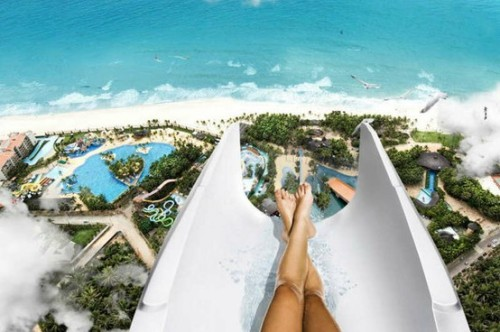 Highest water slide in the world - Fortaleza, Brazil