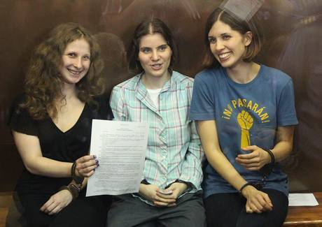 Pussy Riot The three were convicted on August 17, 2012 and were all sentenced to two years imprisonment