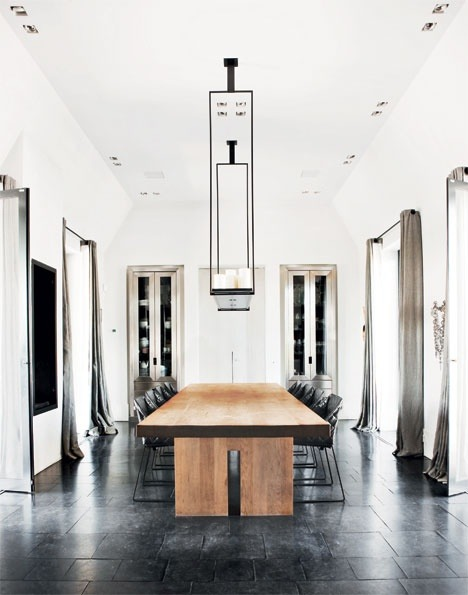 justthedesign:  justthedesign: Dining Room The Danish Way