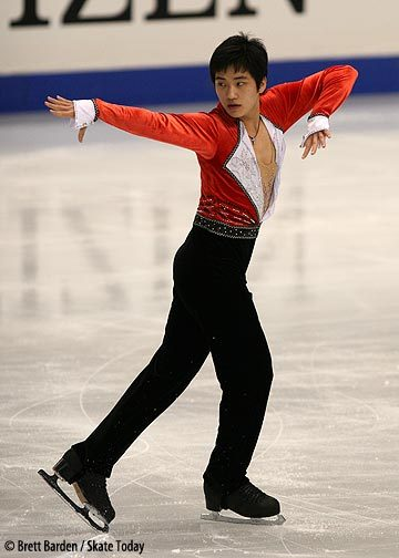 Dong-Whun Lee's short program costume at the 2007 World Championships.
